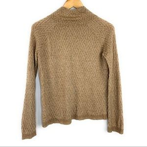 Madewell Sweaters - Madewell Chevron Cinematheque Mock Neck Sweater